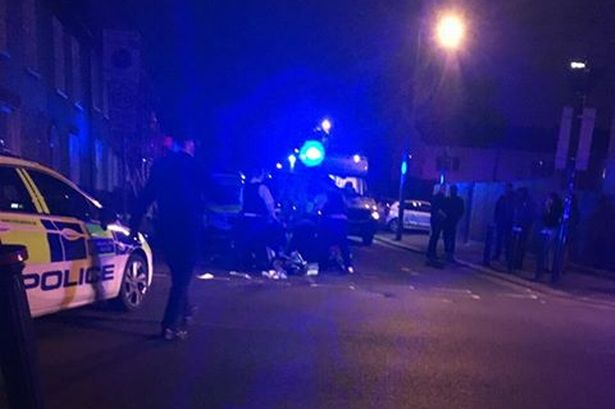 London knife crime: Young man fighting for life in hospital after ...