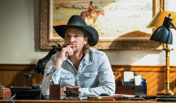 Rede Paramount de Yellowstone Kayce Dutton Luke Grimes