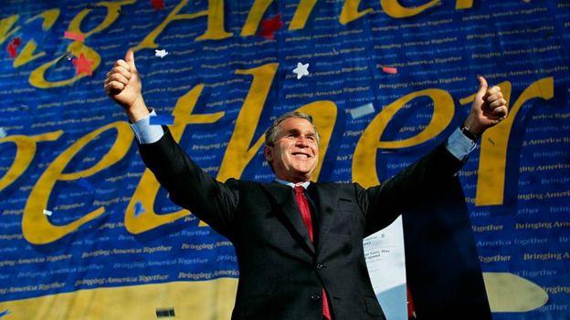 George Bush em 2000