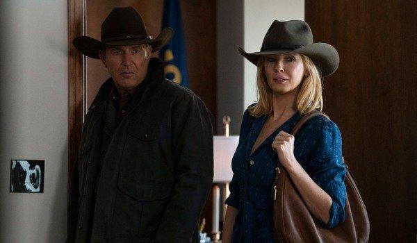 Yellowstone John Dutton Kevin Costner Rede da Paramount de Beth Dutton Kelly Reilly