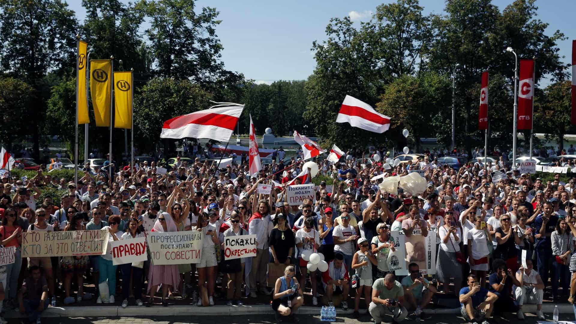 Grupo de Visegrado pede solução política para a crise na Bielorrússia
