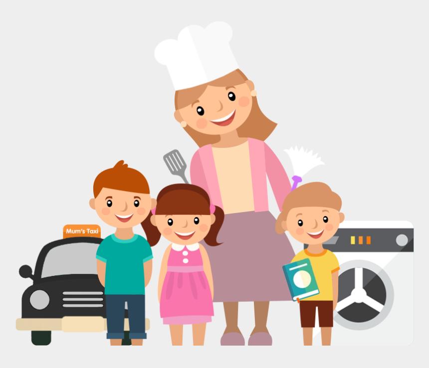 Taxi Clipart Mum - Mum, Cliparts & Cartoons - Jing.fm