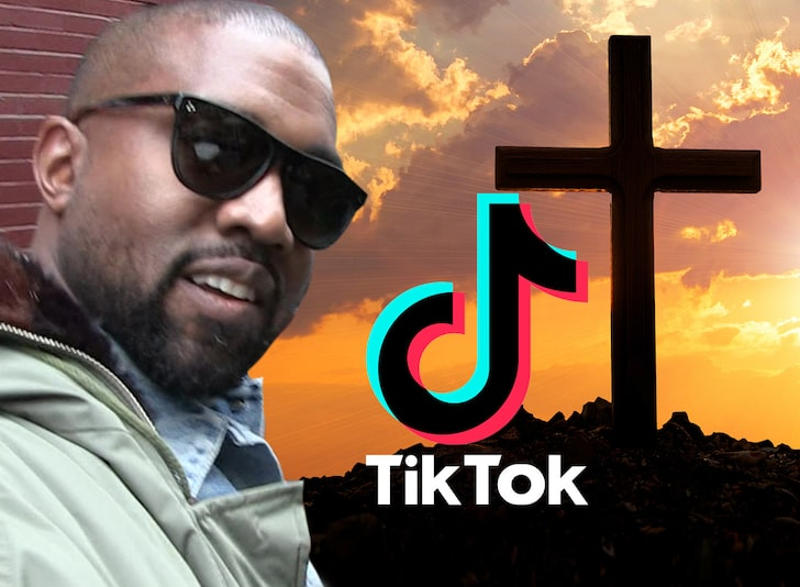 Kanye Wants to Collab with TikTok to Make 'Jesus Tok' for Christians