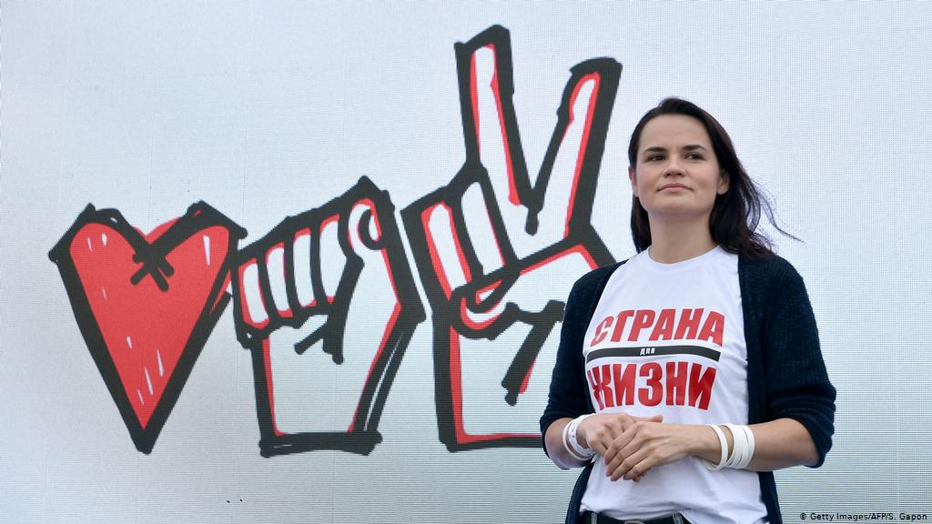 Svetlana Tikhanovskaya: The teacher challenging Lukashenko ...
