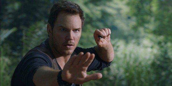 Chris Pratt como Owen Grady em Jurassic World: Fallen Kingdom (2018)