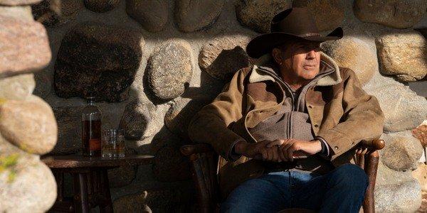 Rede Paramount de Yellowstone John Dutton Kevin Costner