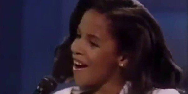 Aaliyah de 11 anos no Star Search