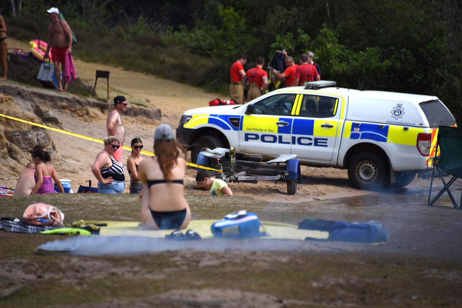 Amazing' powerlifter, 22, drowns in lake while swimming at 30C ...