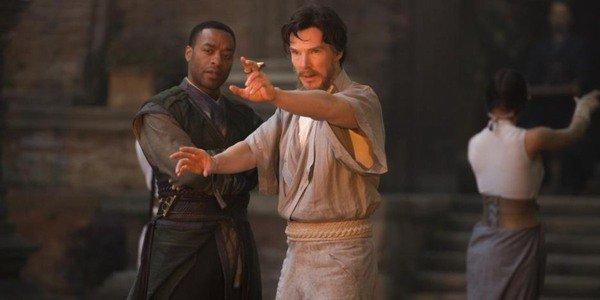 Benedict Cumberbatch em Doctor Strange