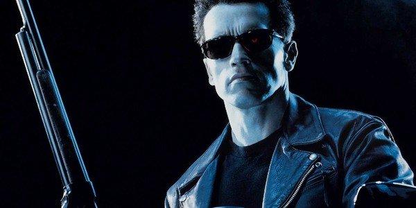 Terminator 2: Dia do Julgamento O T-800 com sua espingarda