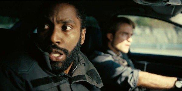 John David Washington e Robert Pattinson em Tenet (2020)