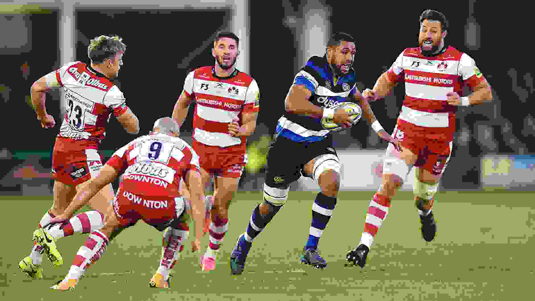 Gloucester Rugby clinch victory at the death against Bath Rugby