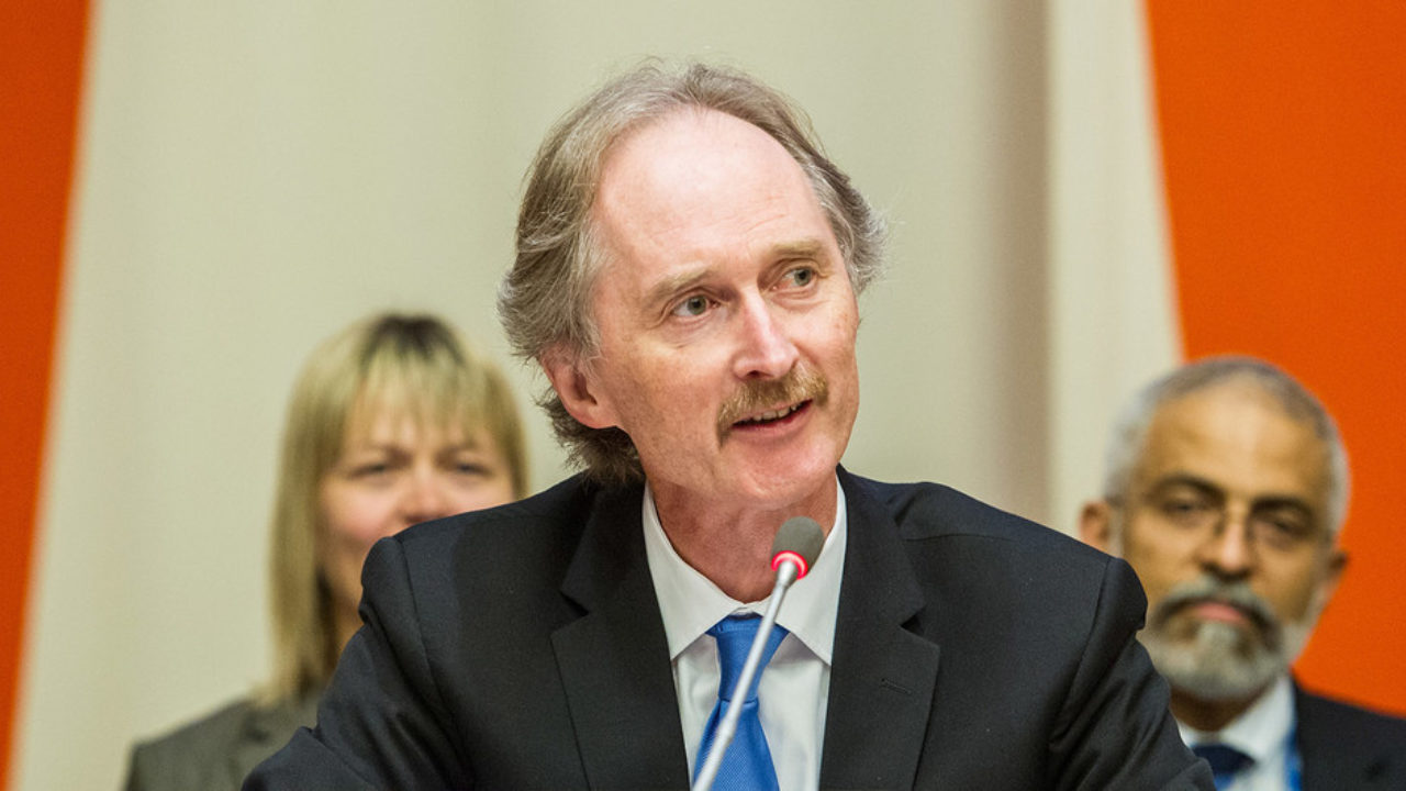 New UN envoy for Syria Pedersen makes first Damascus trip