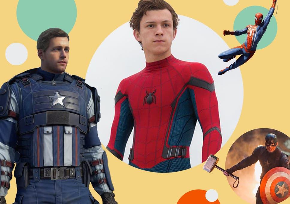 O Capitão América e o Homem-Aranha são feitos para jogos, com menos tempo gasto em convenções e estruturas cinematográficas básicas