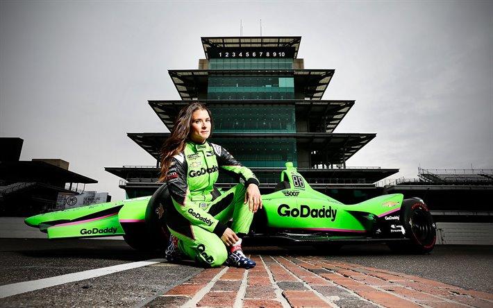 Download imagens Danica Patrick, carro de corrida, Indycar Series ...