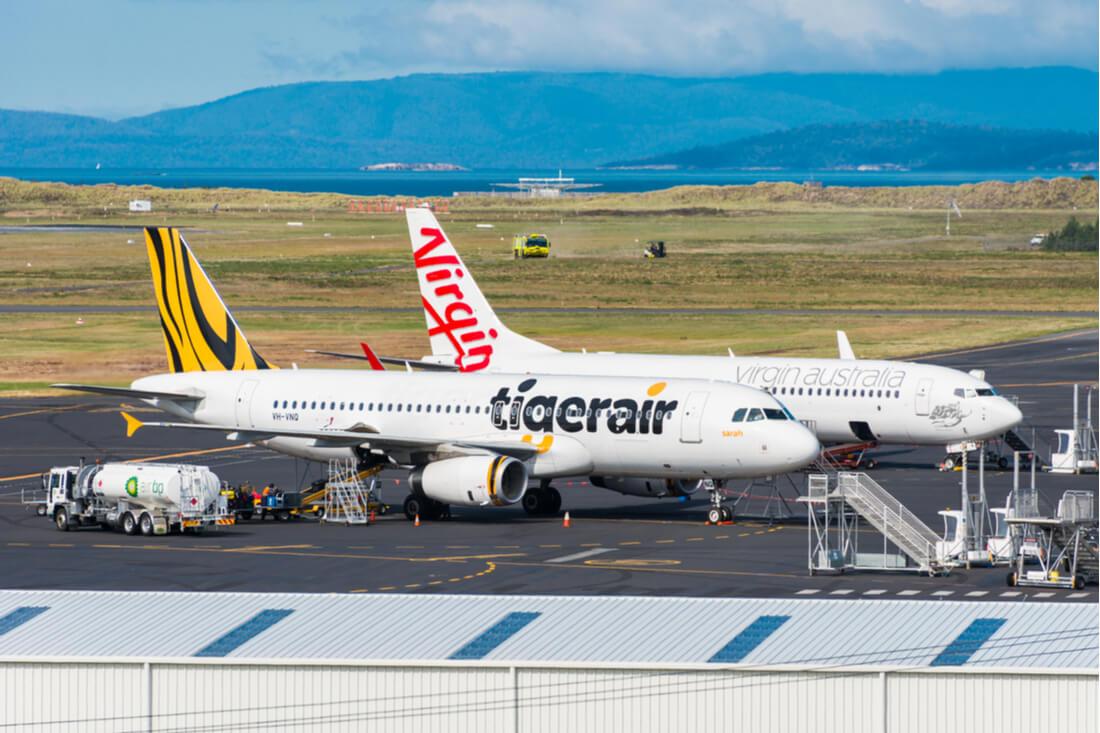 Virgin Australia anunciou o fim das operações da Tigerair ...