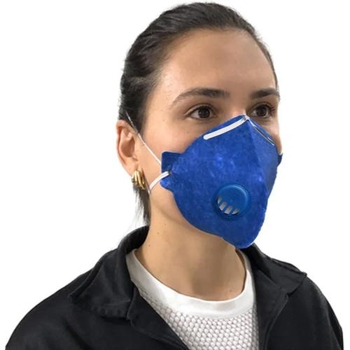 Mascara N95 Descartavel De Proteção Facial Com Valvula Filtro Respirador Ajustável Segurança Pff2 Clipe Nasal Inmnetro Ksn nas americanas