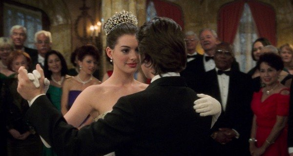 Anne Hathaway in The Princess Diaries