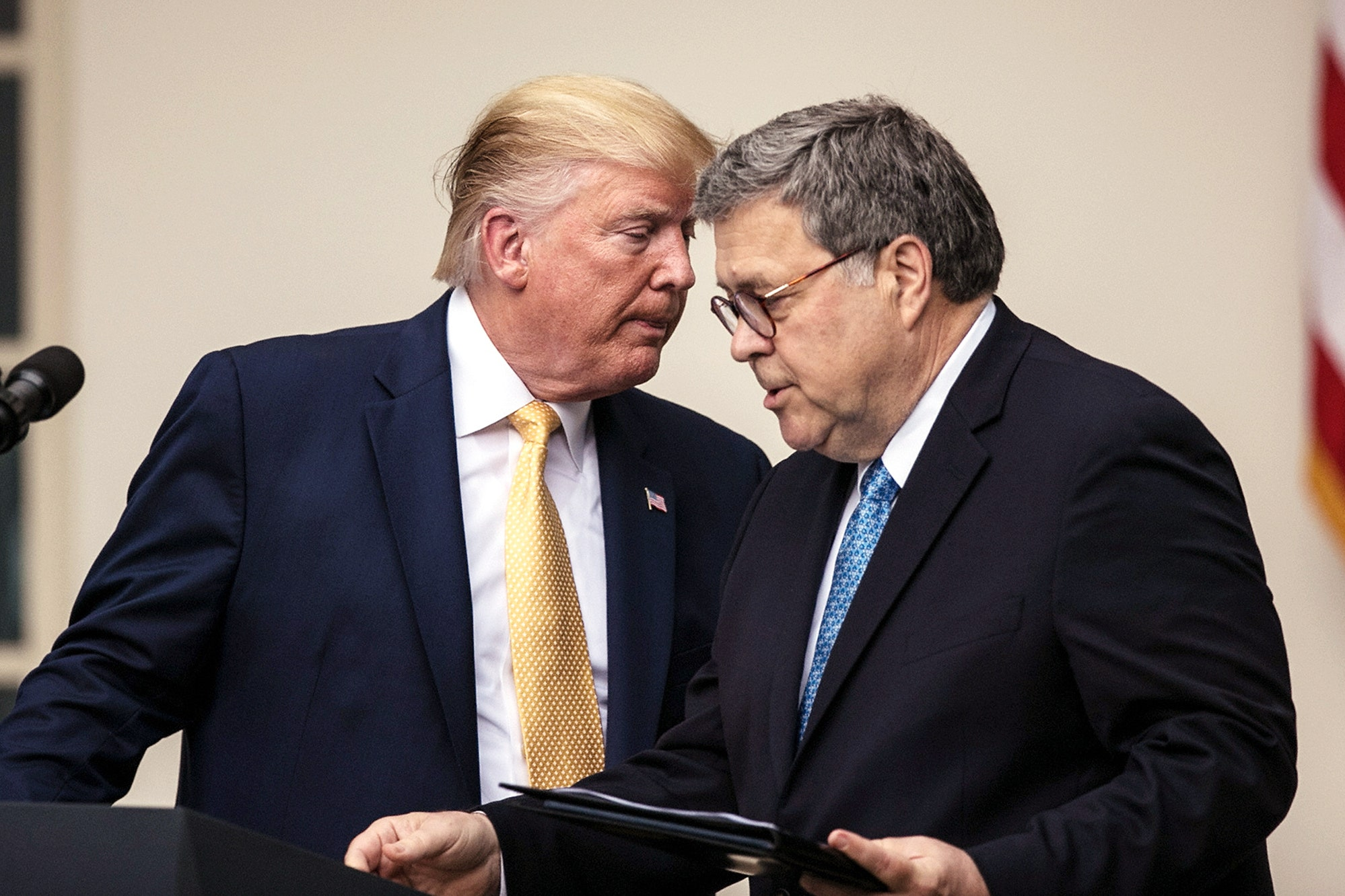 Surprise: William Barr Fully Supports Trump's Totalitarian Oversight Purge | Vanity Fair