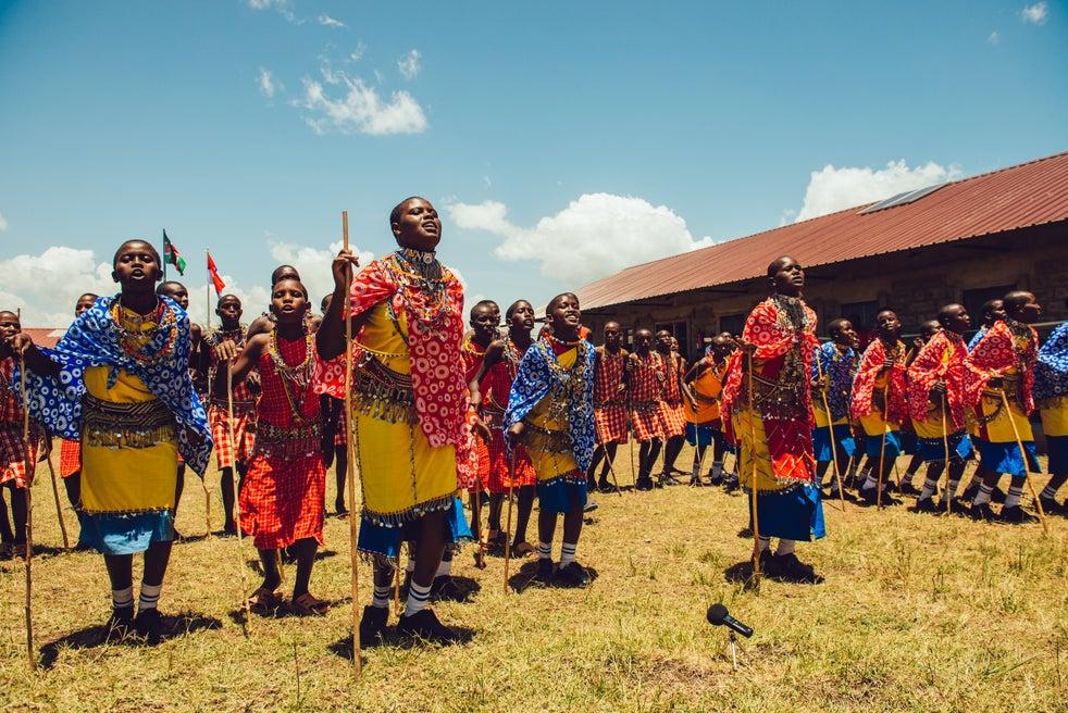 Comunidade Masai
