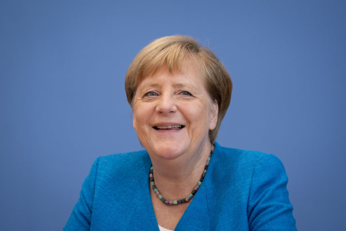 Merkel laughs off suggestion that she was charmed by Trump – POLITICO