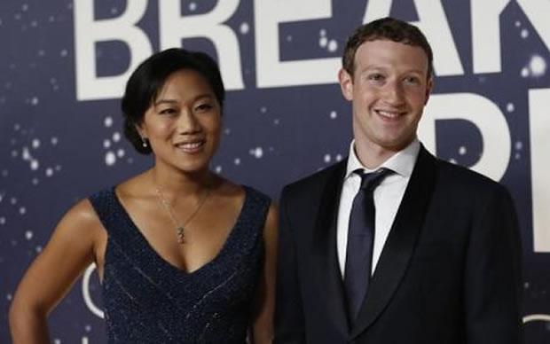Mark Zuckerberg, do Facebook, e esposa terão uma menina » Entretenimento