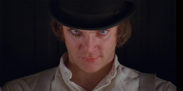 A Clockwork Orange Alex opening shot