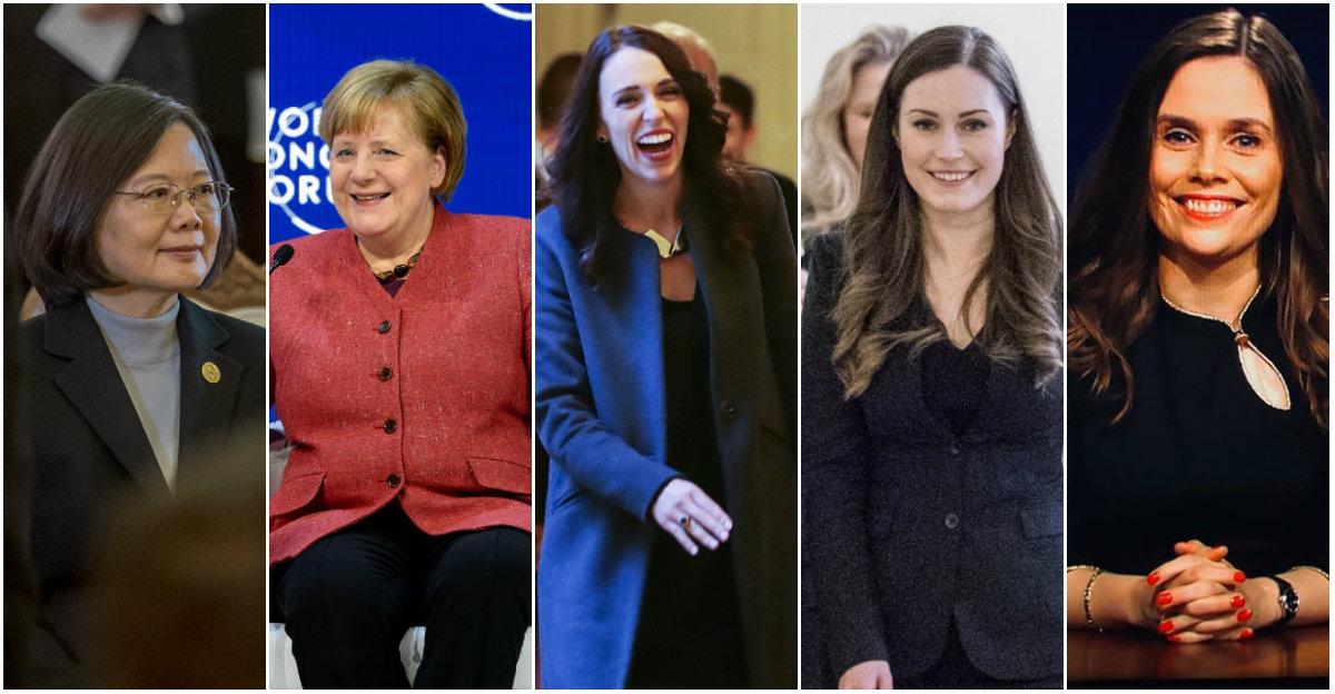Países liderados por mulheres tem melhores resultados na pandemia