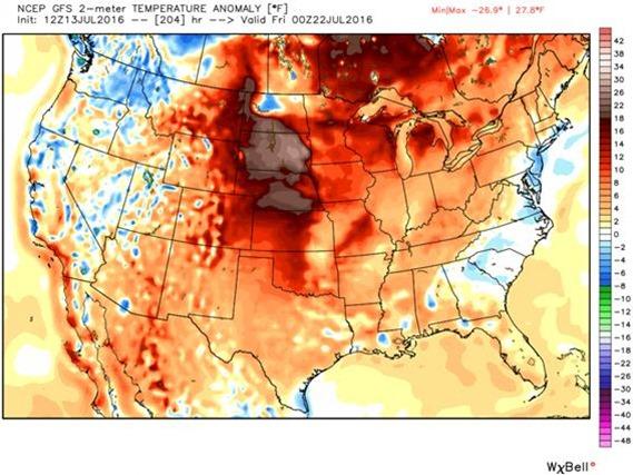 Impressionante Calor nos Estados Unidos | Asia comentada