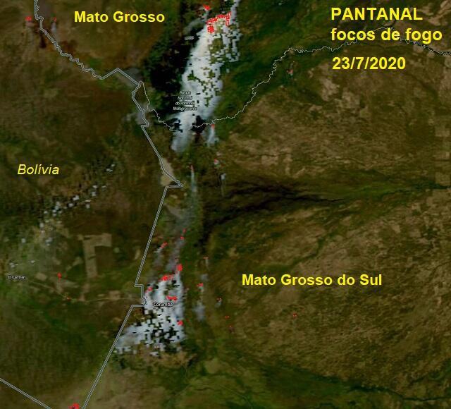 Queimadas aumentaram 200% no Pantanal em 1 ano - Categoria - Notícias  Climatempo