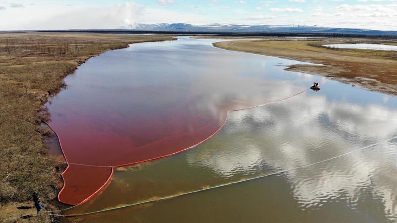 Russian metal giant admits pollution in Arctic tundra | Russia News | Al  Jazeera