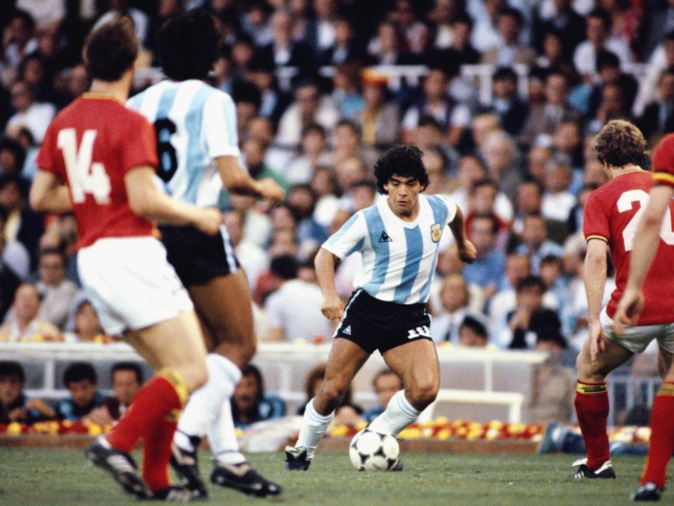 Maradona's success with Argentina is held against Messi in comparisons