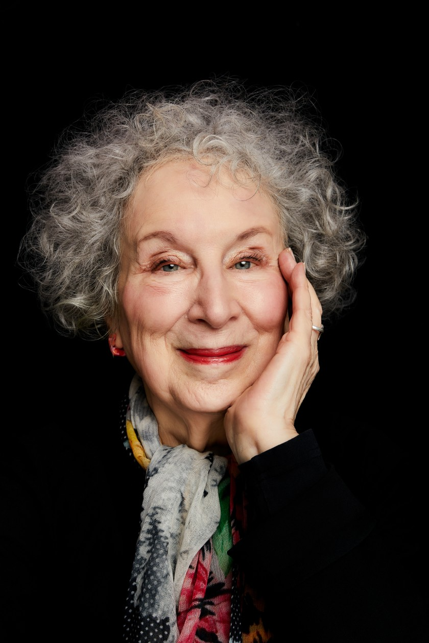 The author Margaret Atwood.