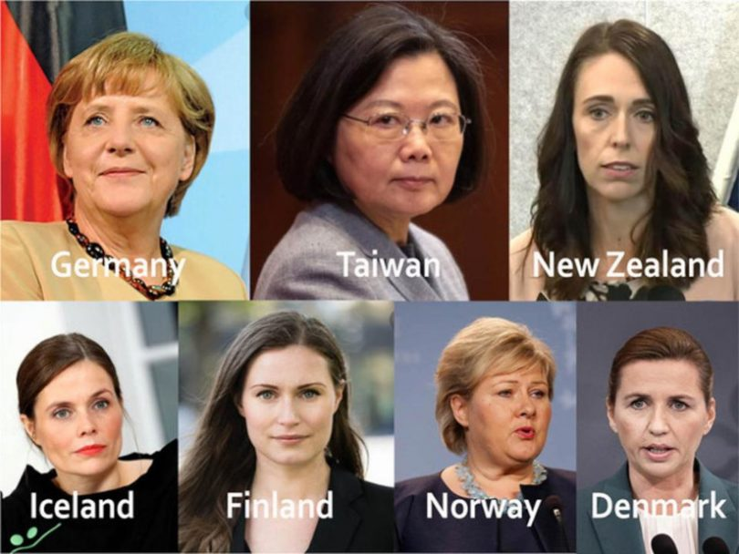 Mulheres à frente dos países mais eficazes contra a pandemia - ClimaInfo