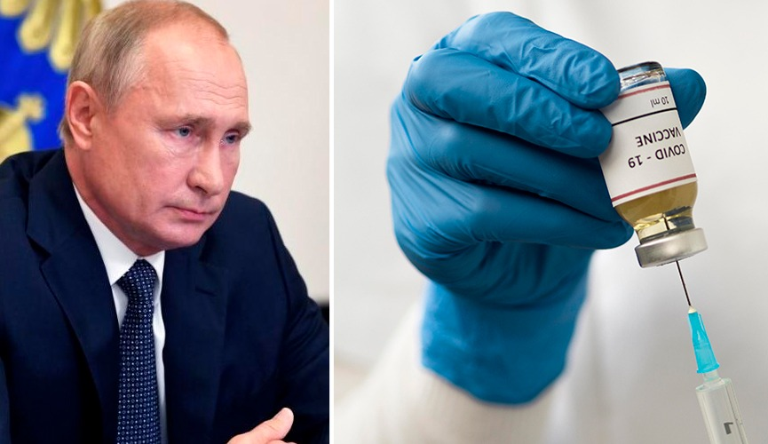 Rússia é o primeiro país a registrar uma vacina contra o coronavírus