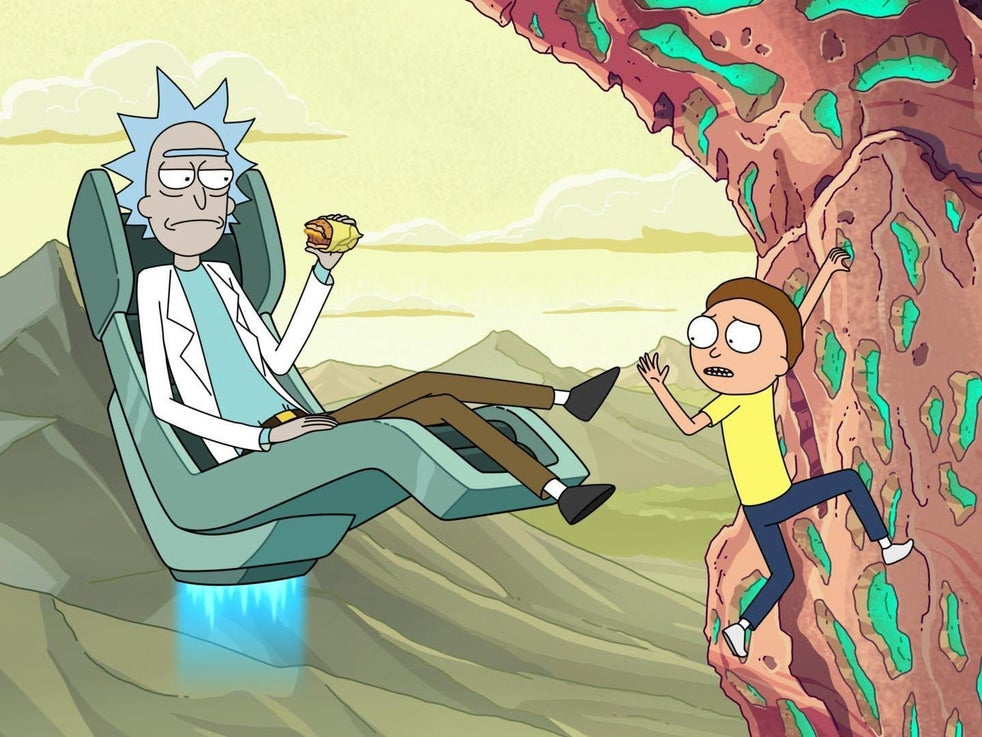 As aventuras bizarras dos personagens titulares de 'Rick e Morty' atraíram uma base de fãs dedicada (Adult Swim)