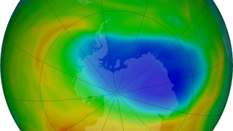 O buraco do ozônio sobre a Antártica se tornou muito mais profundo e amplo em 2020