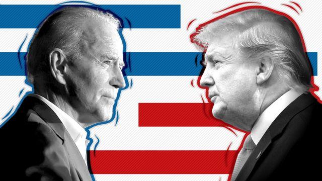 Trump e Biden fecham apelos para a corrida eleitoral 2020 dos EUA