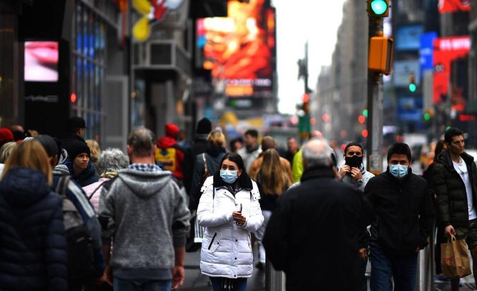 Em Nova York, casos de coronavírus dobram a cada três dias