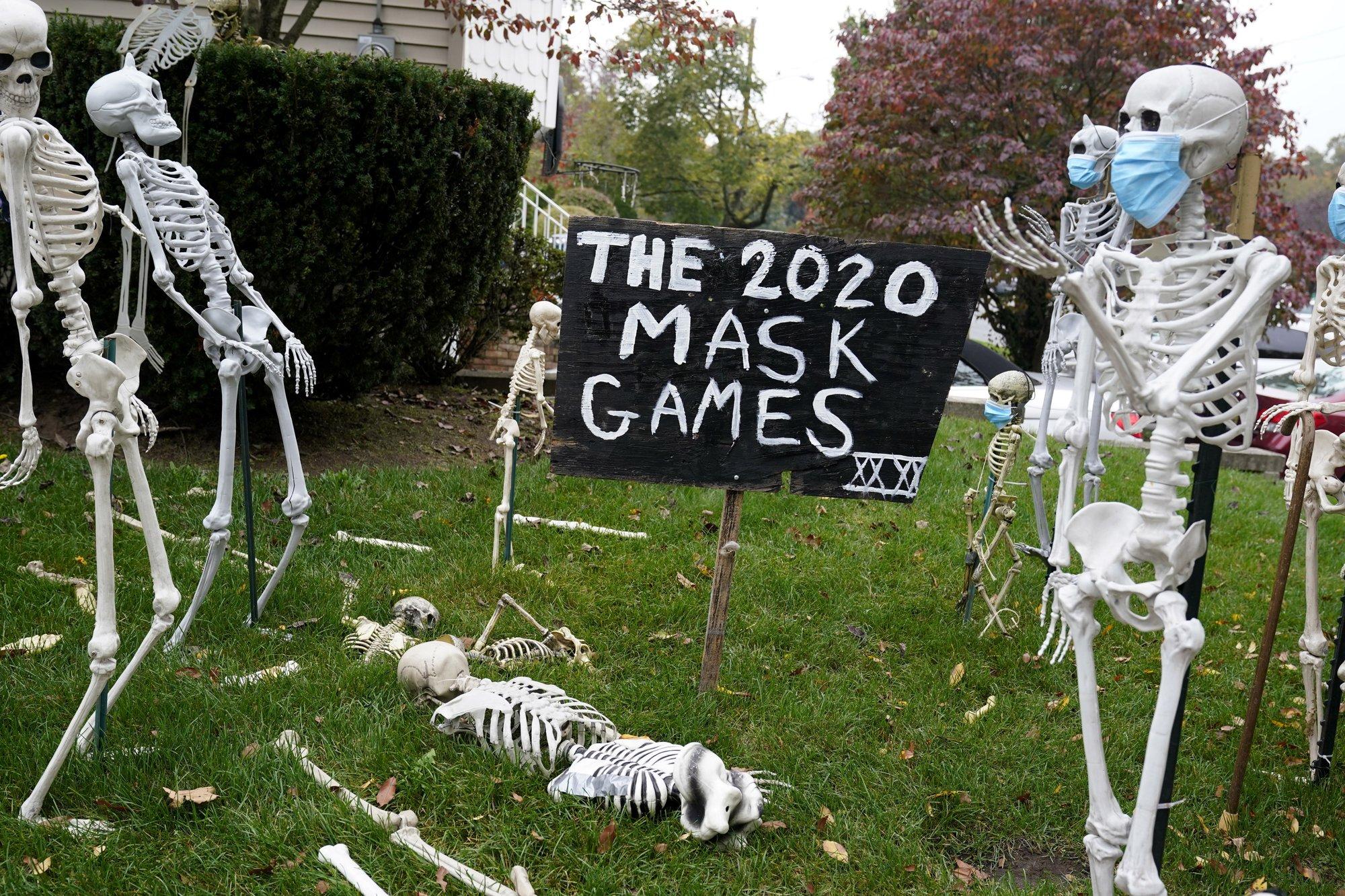 Halloween em 2020: Um pouco de diversão com medo da pandemia do COVID-19