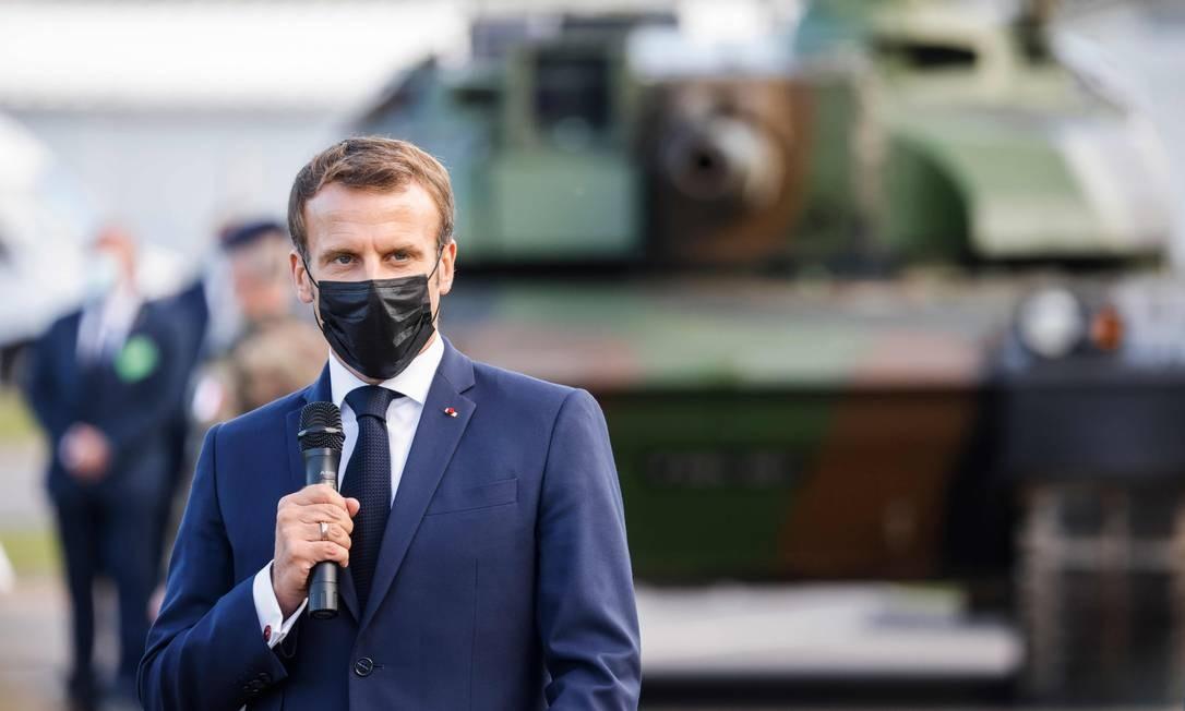 Europa está 'fodida' se Parlamento só se reunir em Bruxelas, diz Macron - Jornal O Globo