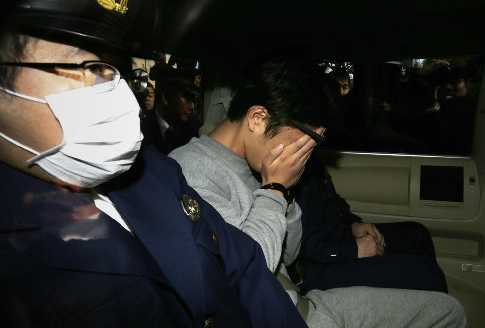 The accused was arrested after dismembered bodies were found in his Tokyo apartment