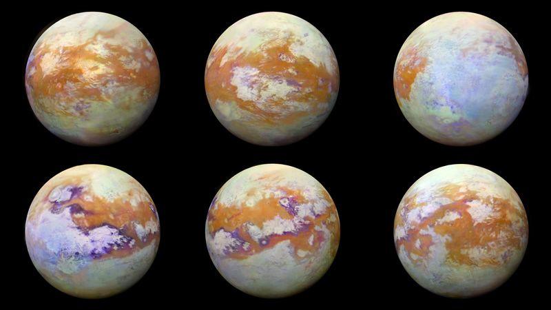 Molécula 'estranha' detectada em Titan nunca foi encontrada em qualquer atmosfera