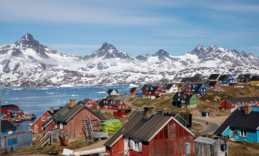Donald Trump mostra interesse em comprar a Groelândia, mas Dinamarca diz  que ilha não está à venda - Jornal O Globo