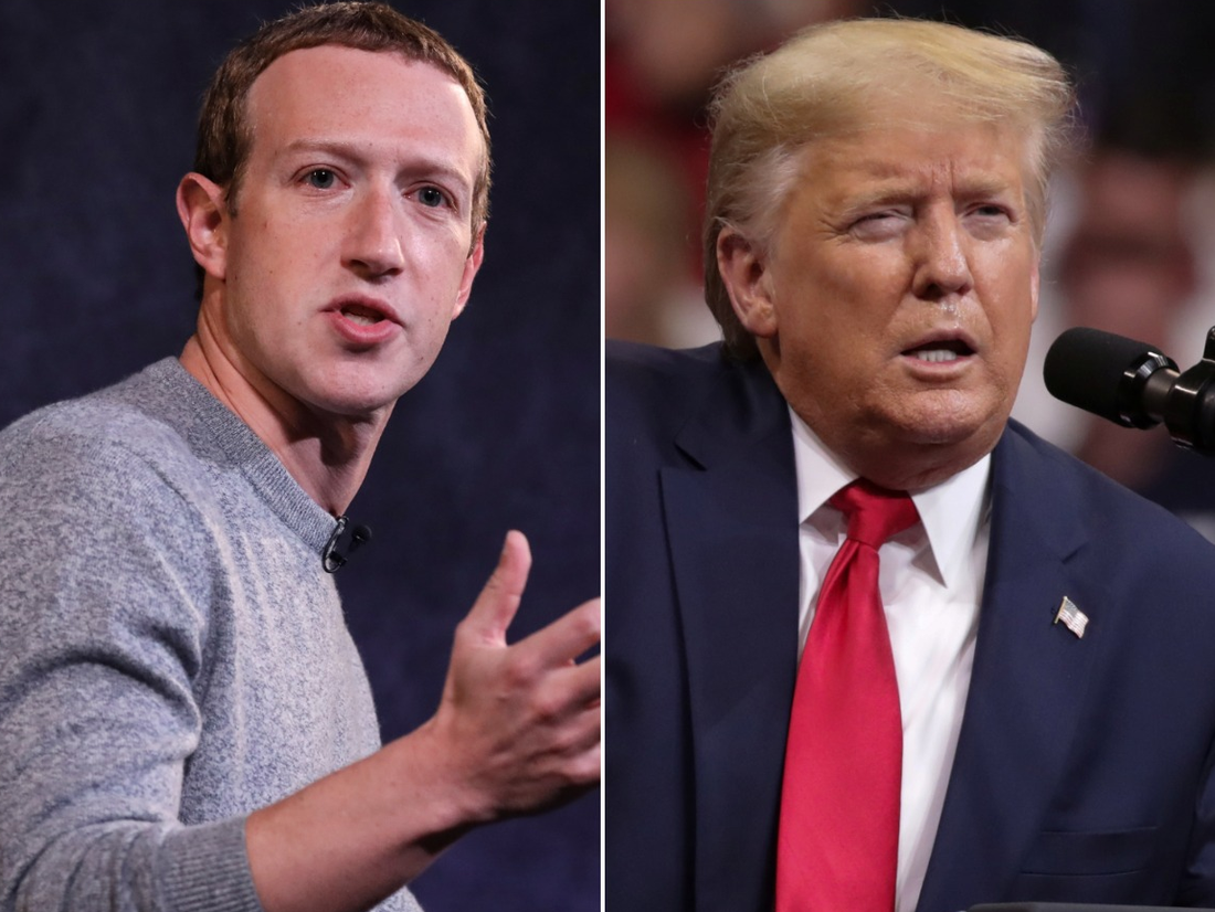 Report: Facebook pleaded with Trump to tone down George Floyd post - Business Insider