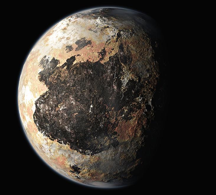 Plutão - InfoEscola