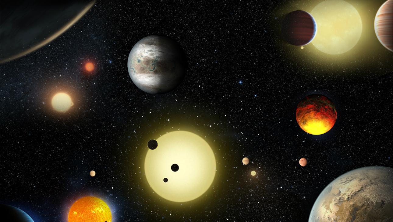 Nasa encontra 9 planetas habitáveis perto da constelação de Libra | Super