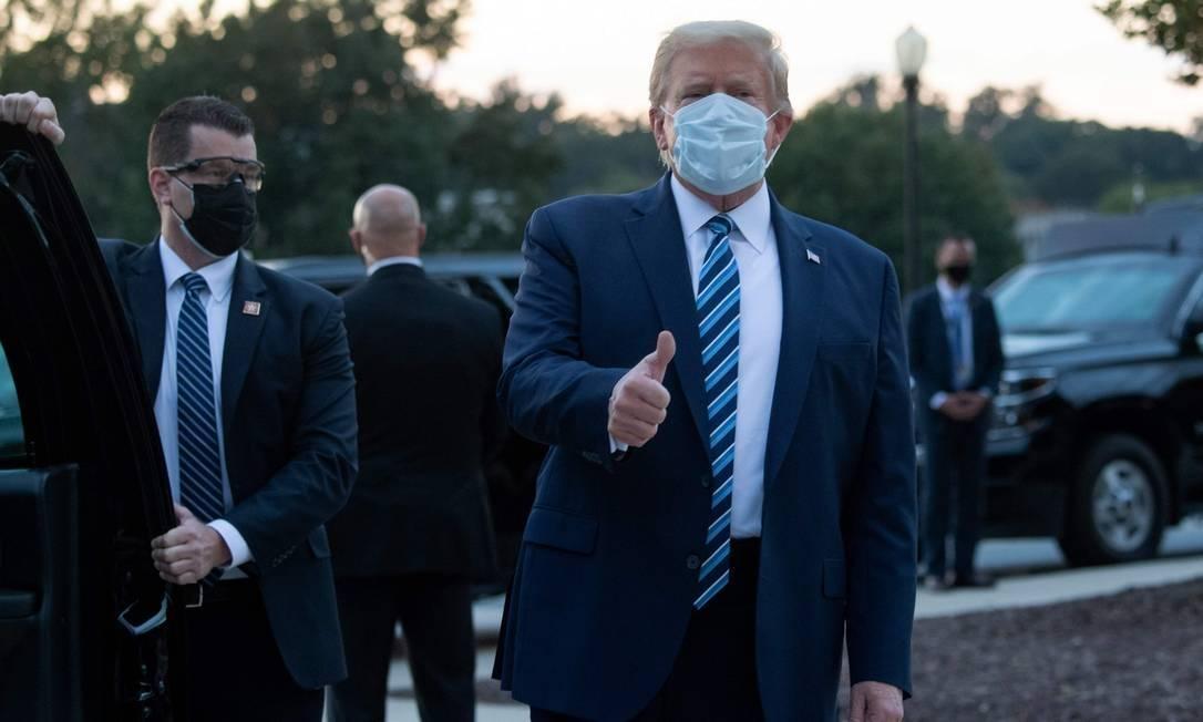 Apesar de especulações sobre agitação de Trump, efeito do medicamento seria  improvável - Jornal O Globo