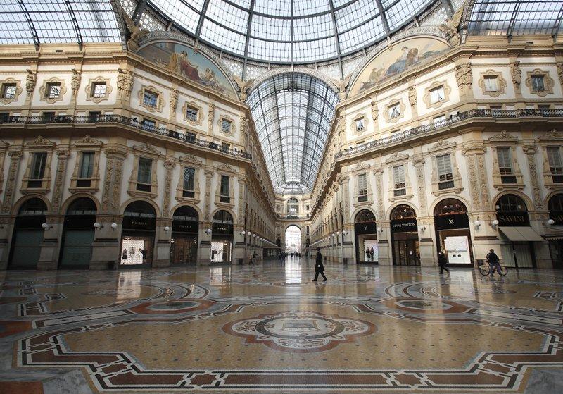 Itália fecha 4 regiões enquanto a Europa tenta bloqueios mais leves