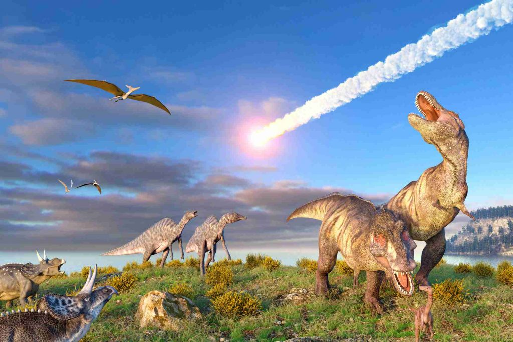 Os dinossauros estavam morrendo antes da queda do asteroide? Saiba mais